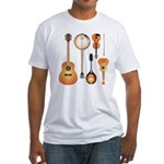 String Instruments Fitted T-Shirt