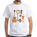 String Instruments White T-Shirt