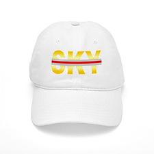 SunBurst Yellow SKY Redline Baseball Cap