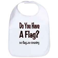 no flag no country! Bib