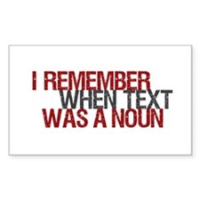 Text Txt Noun Rectangle Decal