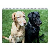 Labrador Retriever Wall Calendar - Best Friends
