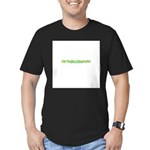 My Dad's A Therapist Men's Fitted T-Shirt (dark)