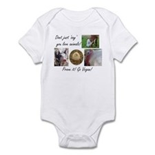 Don't just 'say' you love animals! Infant Bodysuit