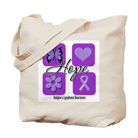 Hope Hodgkin's Lymphoma Tote Bag