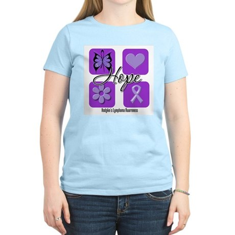 Hope Hodgkin's Lymphoma Women's Light T-Shirt