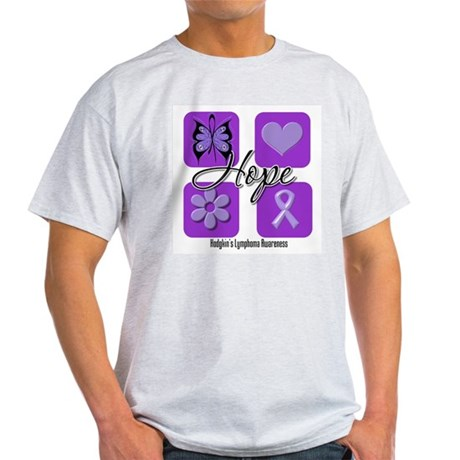 Hope Hodgkin's Lymphoma Light T-Shirt
