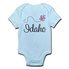 Pretty Idaho Butterfly Infant Bodysuit