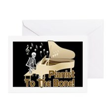 Bone Pianist Greeting Cards (Pk of 20)