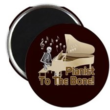 Bone Pianist Magnet