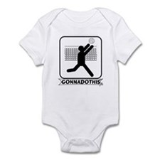 GONNADOTHIS.COM-Volleyball- Infant Bodysuit