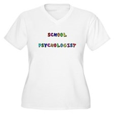 SCHOOL PSYCHOLO copy Plus Size T-Shirt