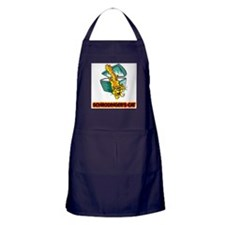 Schrodinger's Cat Apron (dark)