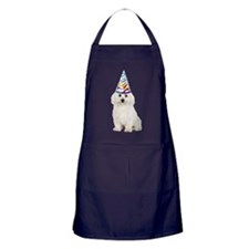 Bichon Frise Party Apron (dark)
