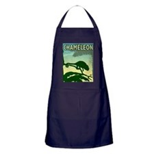 Graphic Chameleon Apron (dark)