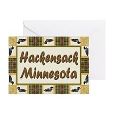 Hackensack Loon Greeting Card