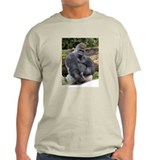 Gorilla Longer Version Ash Grey T-Shirt
