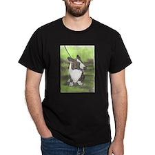 corgi corner Black T-Shirt