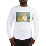 corgi corner Long Sleeve T-Shirt