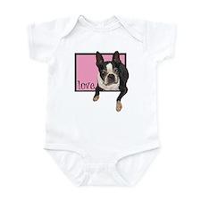 Clare Taylor Love Infant Bodysuit