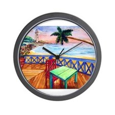 Unique Lighthouses Wall Clock