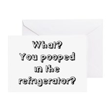 In The Refrigerator? Greeting Card