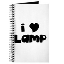 I Love Lamp Journal