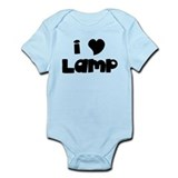 I Love Lamp Onesie