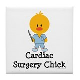 Cardiac Surgery Chick Tile Coaster