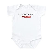 Acts_As_Human Infant Bodysuit