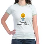 Thoracic Surgery Chick Jr. Ringer T-Shirt