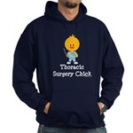 Thoracic Surgery Chick Hoodie (dark)