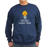 Thoracic Surgery Chick Sweatshirt (dark)