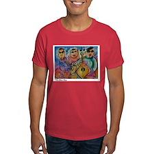 Musicans, Colorful, Fun, T-Shirt
