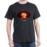 o'rly Megaton Bomb Graphic Black T-Shirt