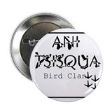 "Cherokee Bird Clan 2.25"" Button"