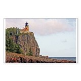 Split Rock Lighthouse Rectangle Decal