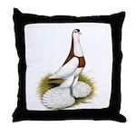 Australian Saddleback Pigeon Throw Pillow