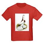 Australian Saddleback Pigeon Kids Dark T-Shirt