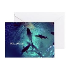 Circle Of Fishes Greeting Card