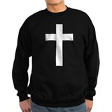 White Cross Jumper Sweater