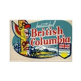 Beautiful British Columbia Canada Magnet