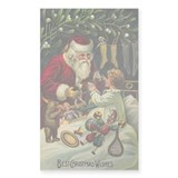 Christmas Rectangle Sticker 50 pk)