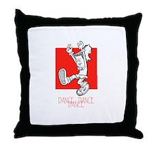 Dance Dance Dance Throw Pillow