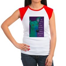 Colorful Greyhound Tee