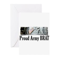 Unique Army brats Greeting Cards (Pk of 10)
