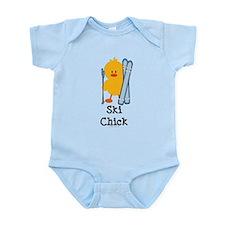 Ski Chick Infant Bodysuit