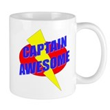 Captain Awesome Small Mug