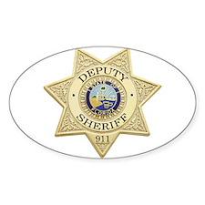 Florida Deputy Sheriff Oval Decal
