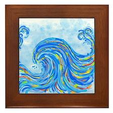Wave Framed Tile